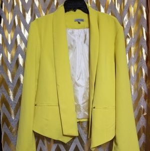 Charlotte Russe Yellow Blazer